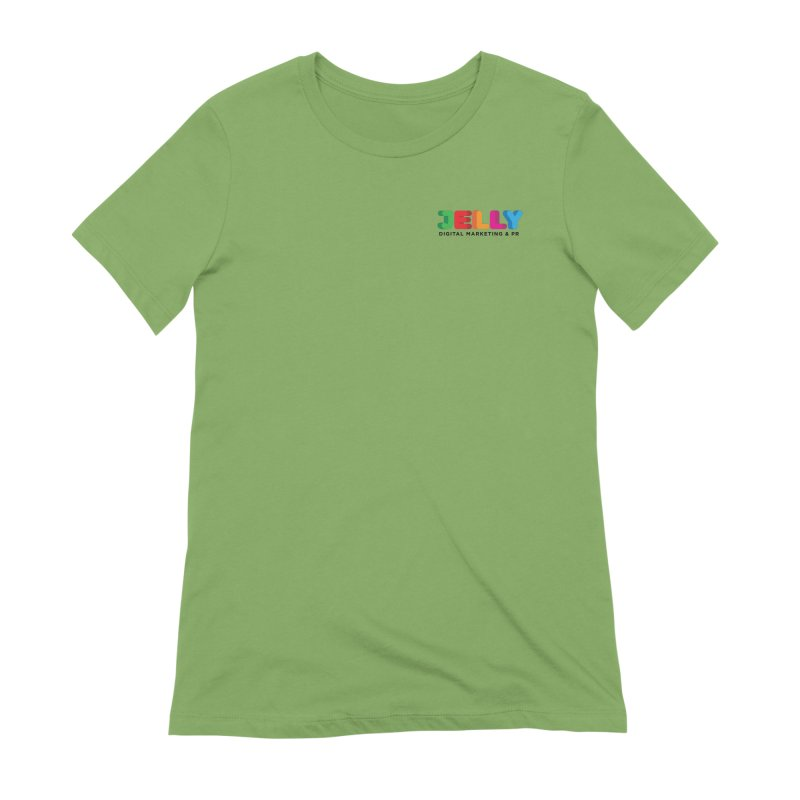 Jelly Logo Women's Extra Soft T-Shirt by Jelly Marketing & PR