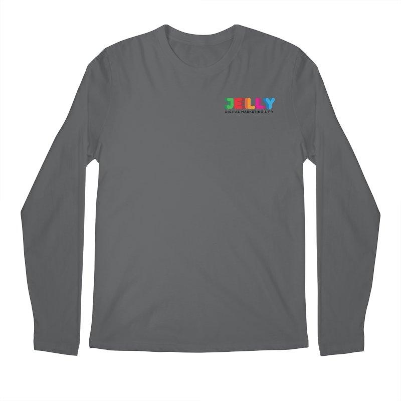 Jelly Logo Men's Longsleeve T-Shirt by Jelly Marketing & PR
