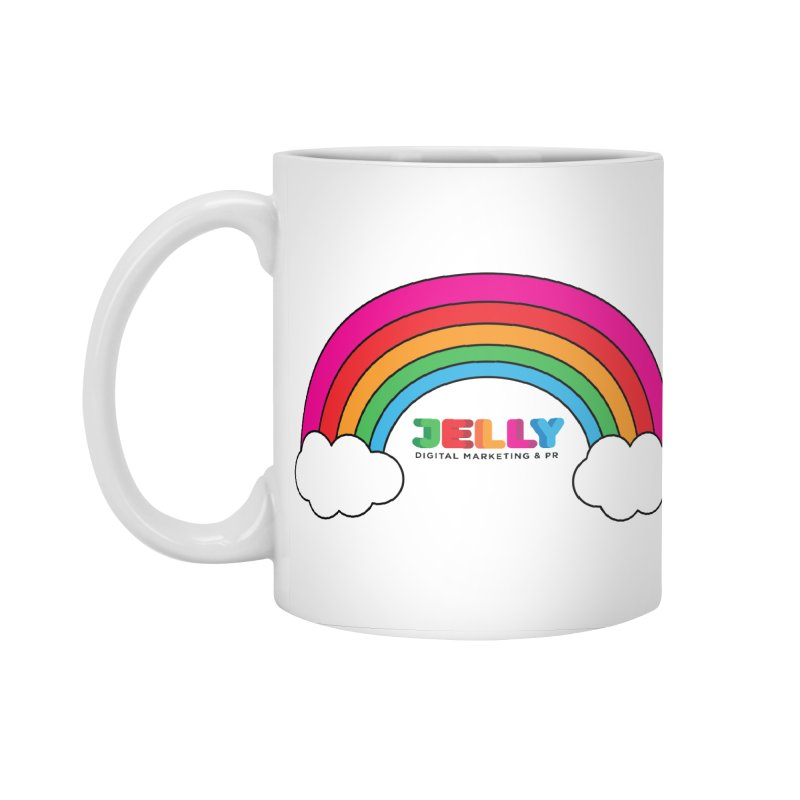 The Jelly Rainbow Accessories Standard Mug by Jelly Marketing & PR