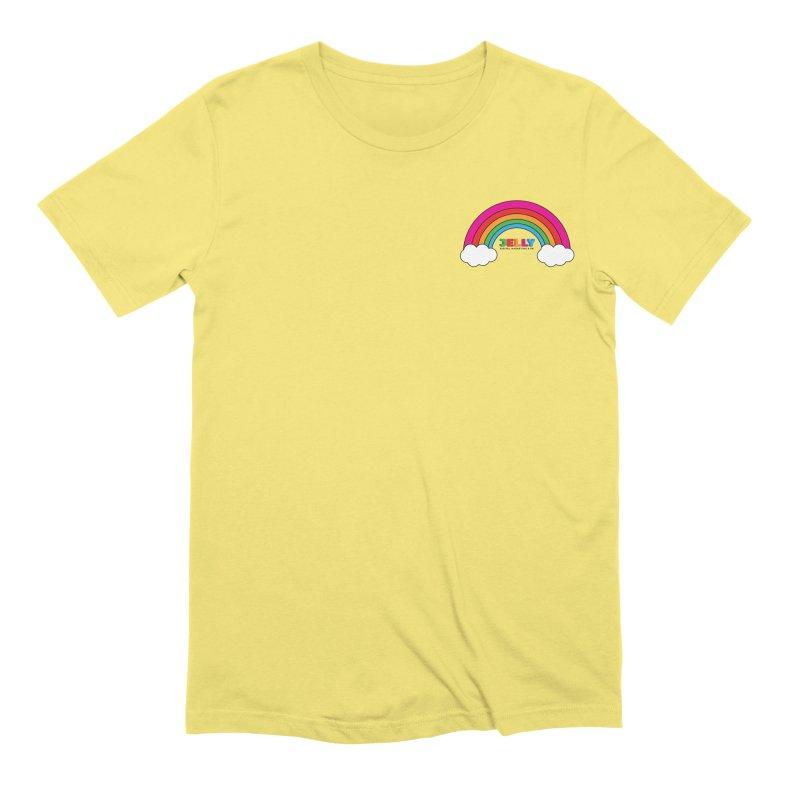 The Jelly Rainbow Men's Extra Soft T-Shirt by Jelly Marketing & PR