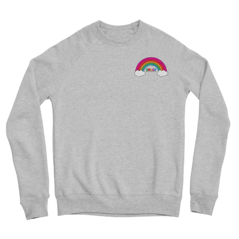 The Jelly Rainbow Men's Sponge Fleece Sweatshirt by Jelly Marketing & PR