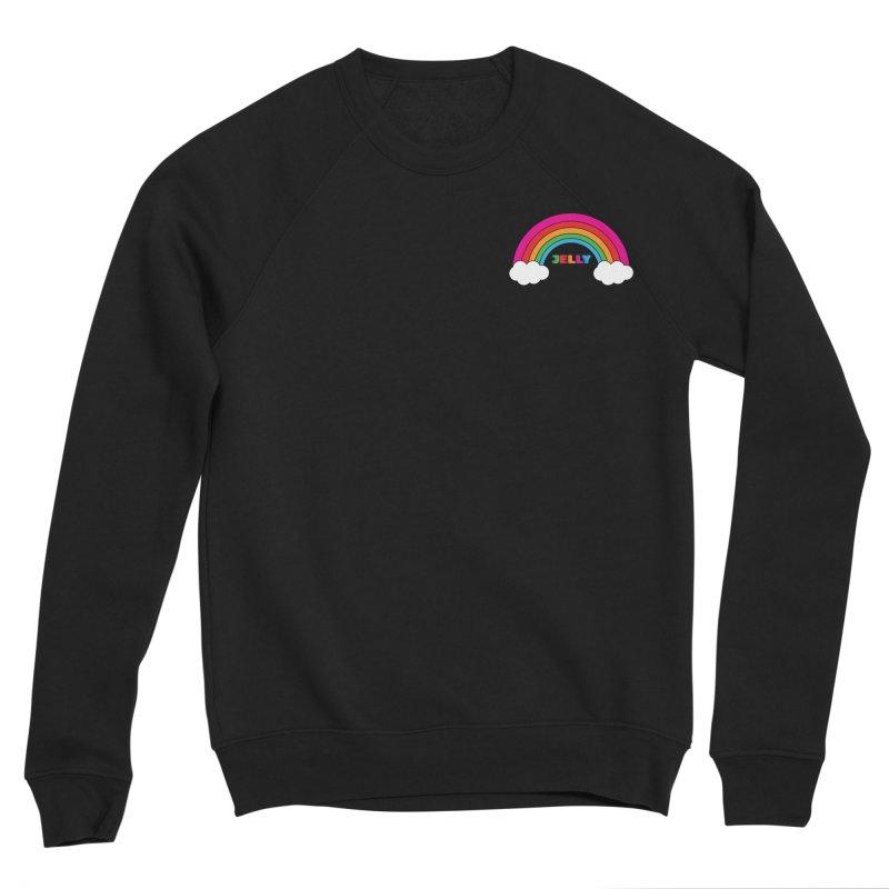 The Jelly Rainbow Men's Sponge Fleece Sweatshirt by Jelly Marketing & PR