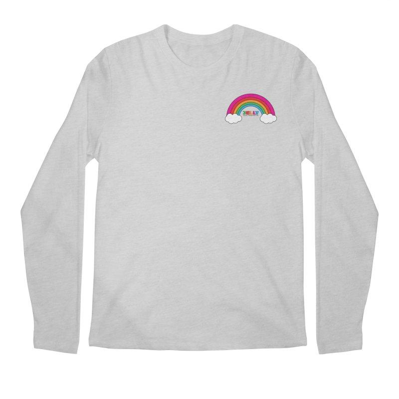 The Jelly Rainbow Men's Regular Longsleeve T-Shirt by Jelly Marketing & PR