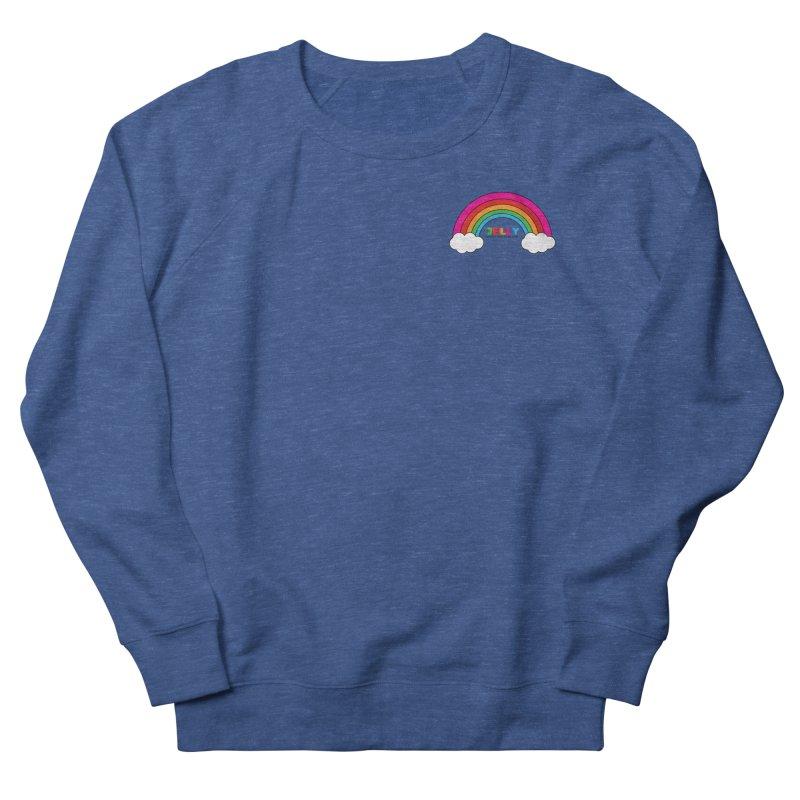 The Jelly Rainbow Women's French Terry Sweatshirt by Jelly Marketing & PR