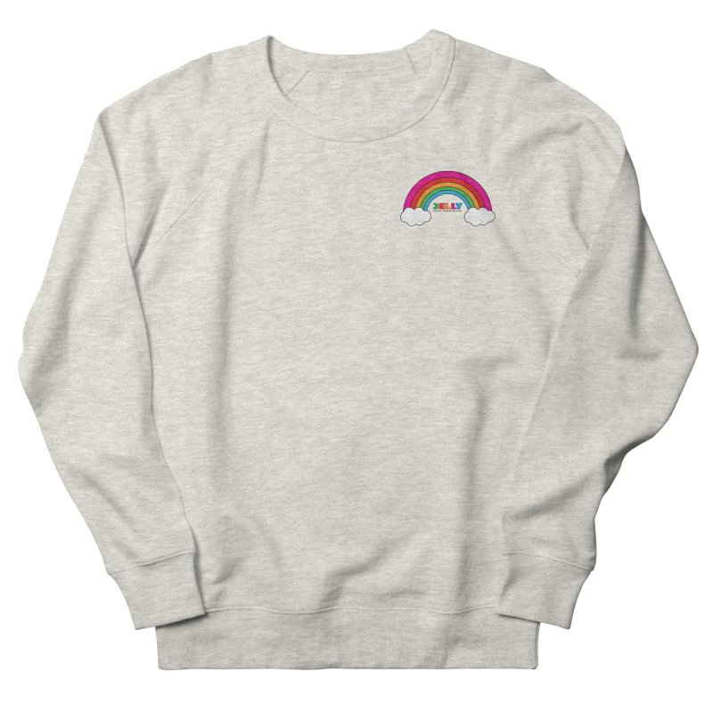 The Jelly Rainbow Men's French Terry Sweatshirt by Jelly Marketing & PR