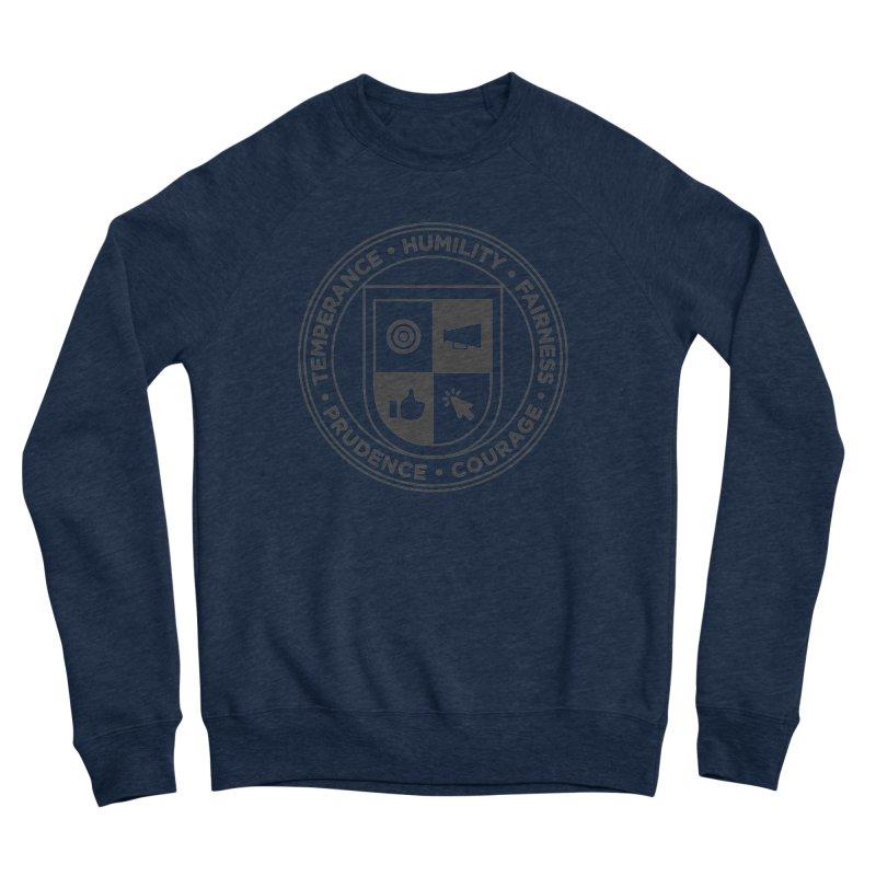 Jelly Academy Black Crest Men's Sweatshirt by Jelly Marketing & PR
