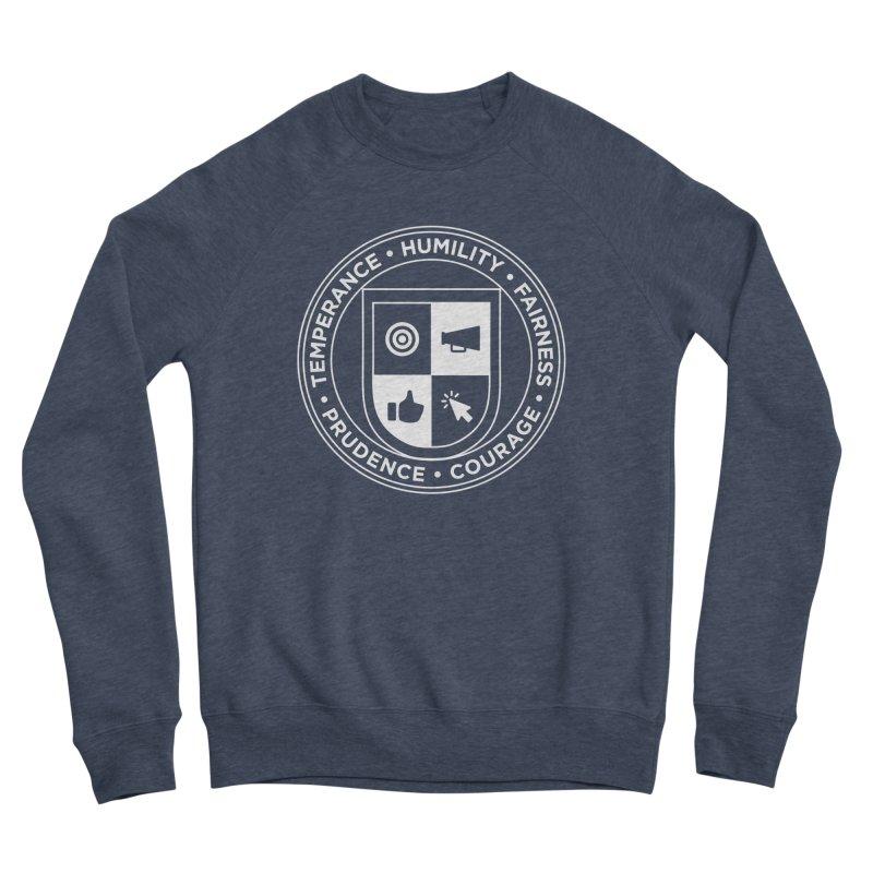 Jelly Academy White Crest Women's Sponge Fleece Sweatshirt by Jelly Marketing & PR