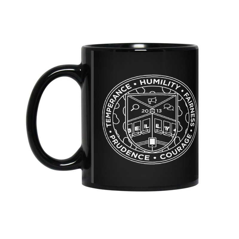 Jelly Marketing White Crest Accessories Mug by Jelly Marketing & PR