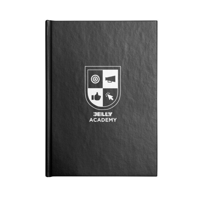 Jelly Academy White Logo Accessories Notebook by Jelly Marketing & PR