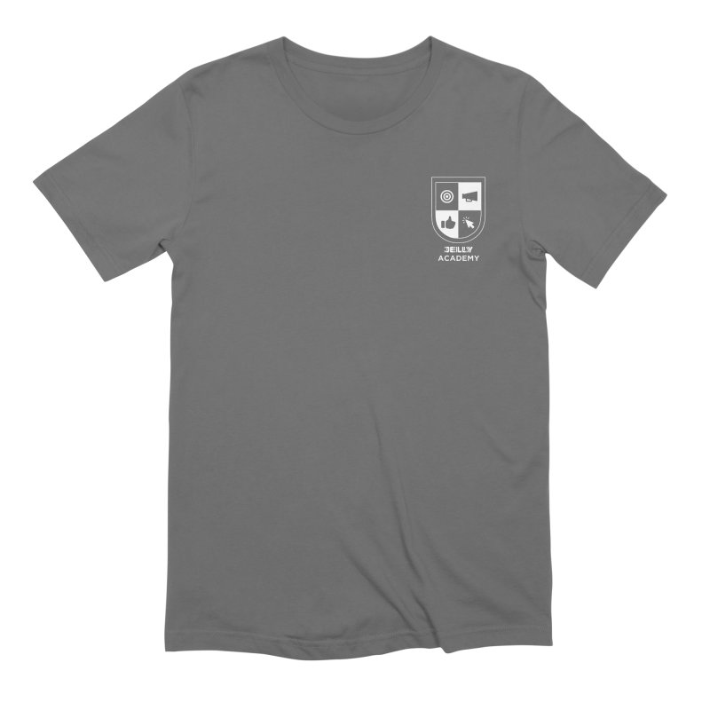 Jelly Academy White Logo Men's T-Shirt by Jelly Marketing & PR