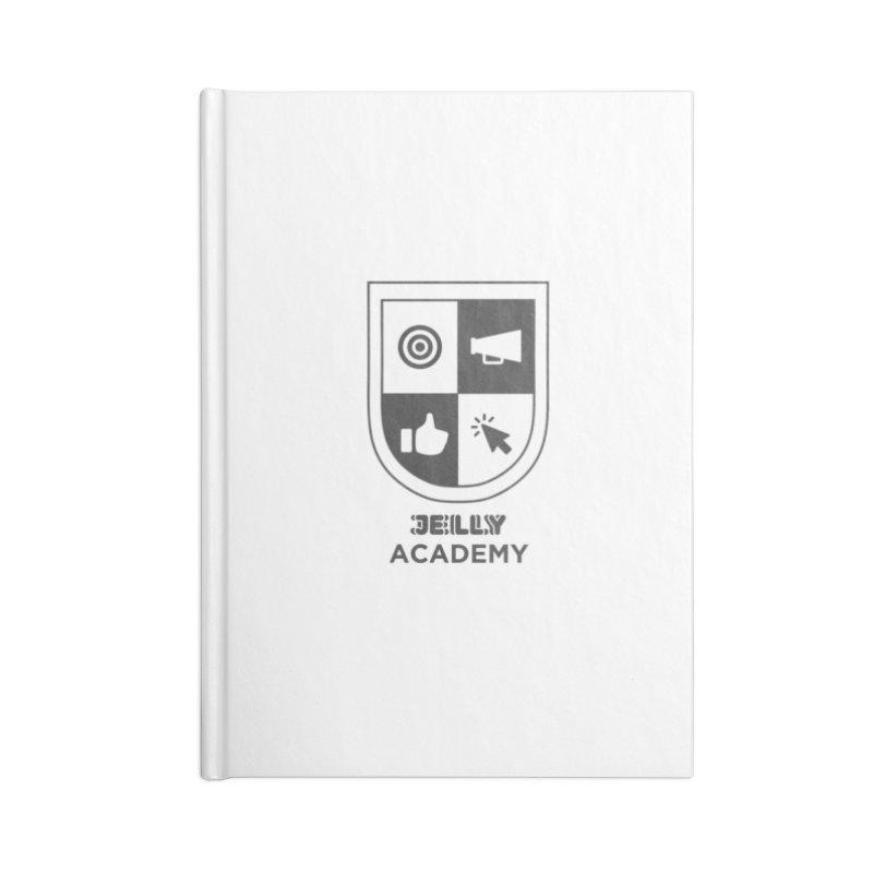 Jelly Academy Black Logo Accessories Notebook by Jelly Marketing & PR
