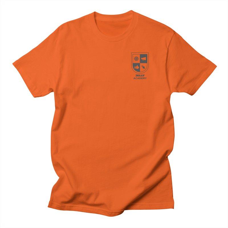 Jelly Academy Black Logo Men's T-Shirt by Jelly Marketing & PR