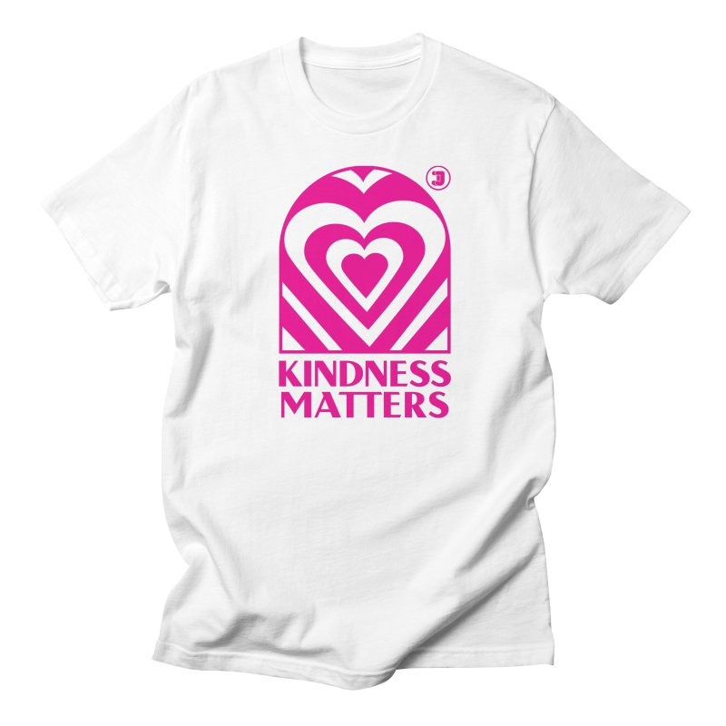 Kindness Matters Pink Shirt Day Men's T-Shirt by Jelly Marketing & PR