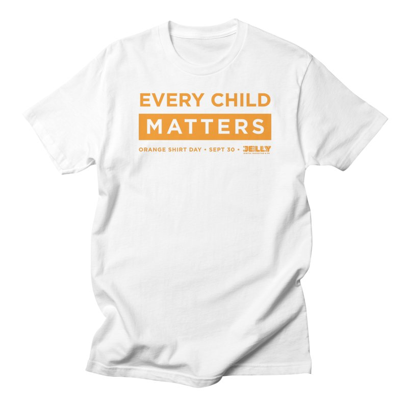 Every Child Matters Orange Shirt Day Men's T-Shirt by Jelly Marketing & PR