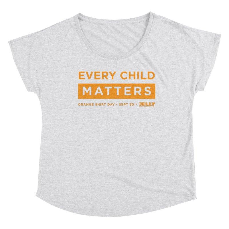 Every Child Matters Orange Shirt Day Women's Scoop Neck by Jelly Marketing & PR