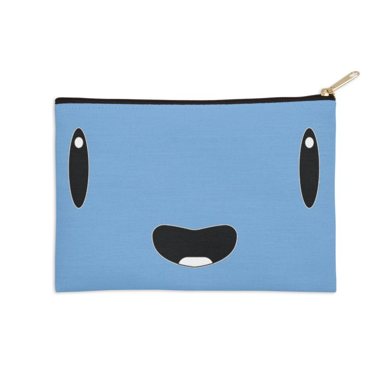 Minimalist Jellywish Face Accessories Zip Pouch by Jellywishes