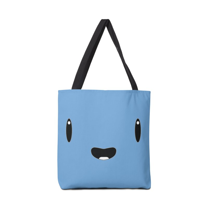 Minimalist Jellywish Face in Tote Bag by Jellywishes