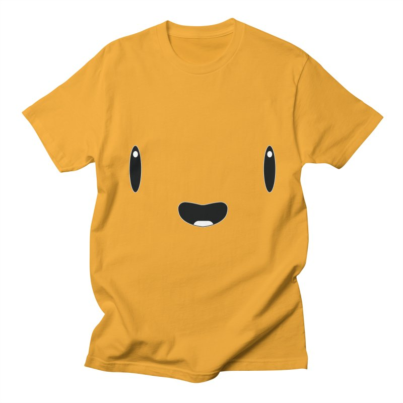 Minimalist Jellywish Face Men's Regular T-Shirt by Jellywishes