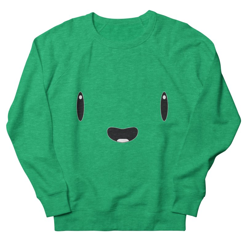 Minimalist Jellywish Face Men's French Terry Sweatshirt by Jellywishes