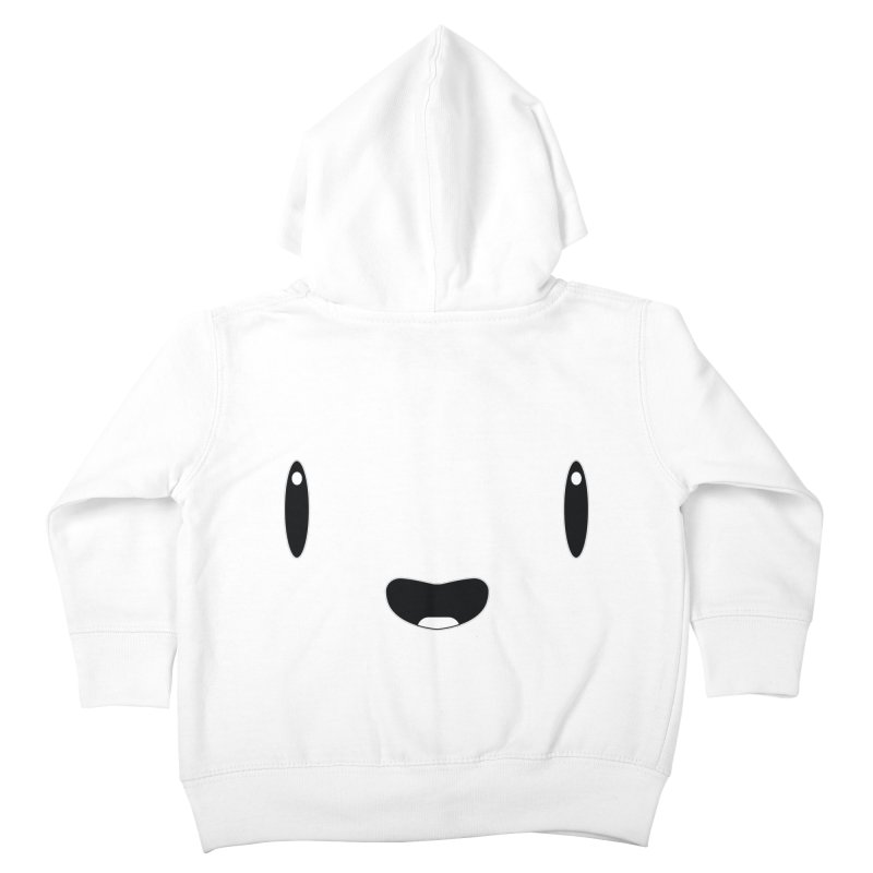 Minimalist Jellywish Face Kids Toddler Zip-Up Hoody by Jellywishes