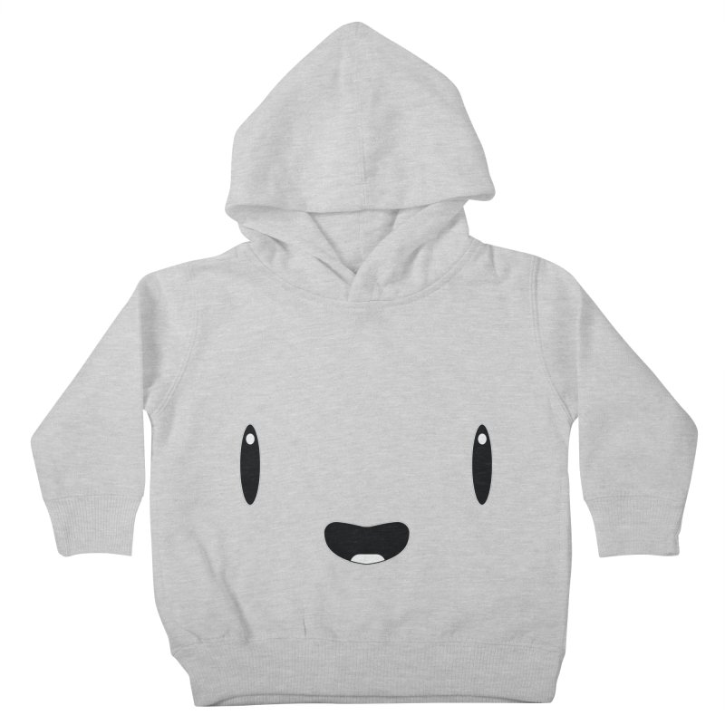 Minimalist Jellywish Face Kids Toddler Pullover Hoody by Jellywishes