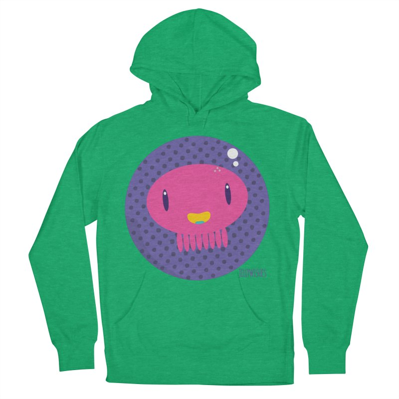 Jellywishes Men's French Terry Pullover Hoody by Jellywishes