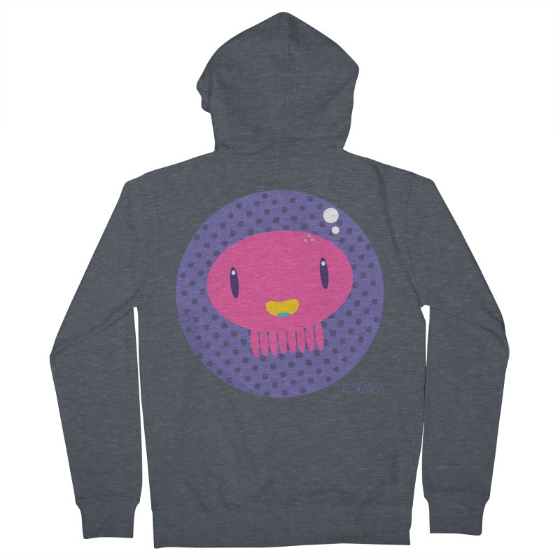 Jellywishes Men's Zip-Up Hoody by Jellywishes