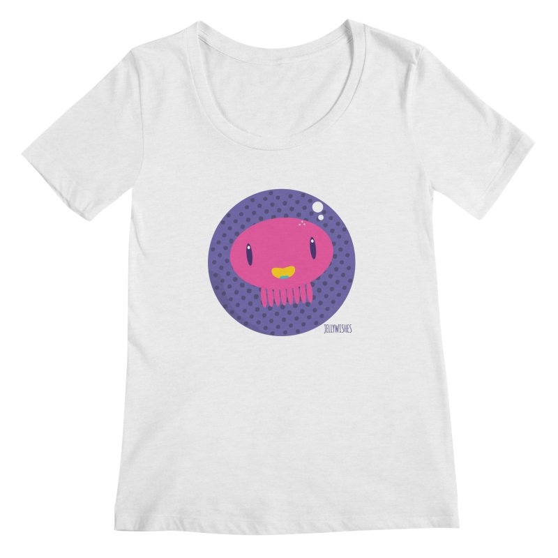 Jellywishes Women's Regular Scoop Neck by Jellywishes