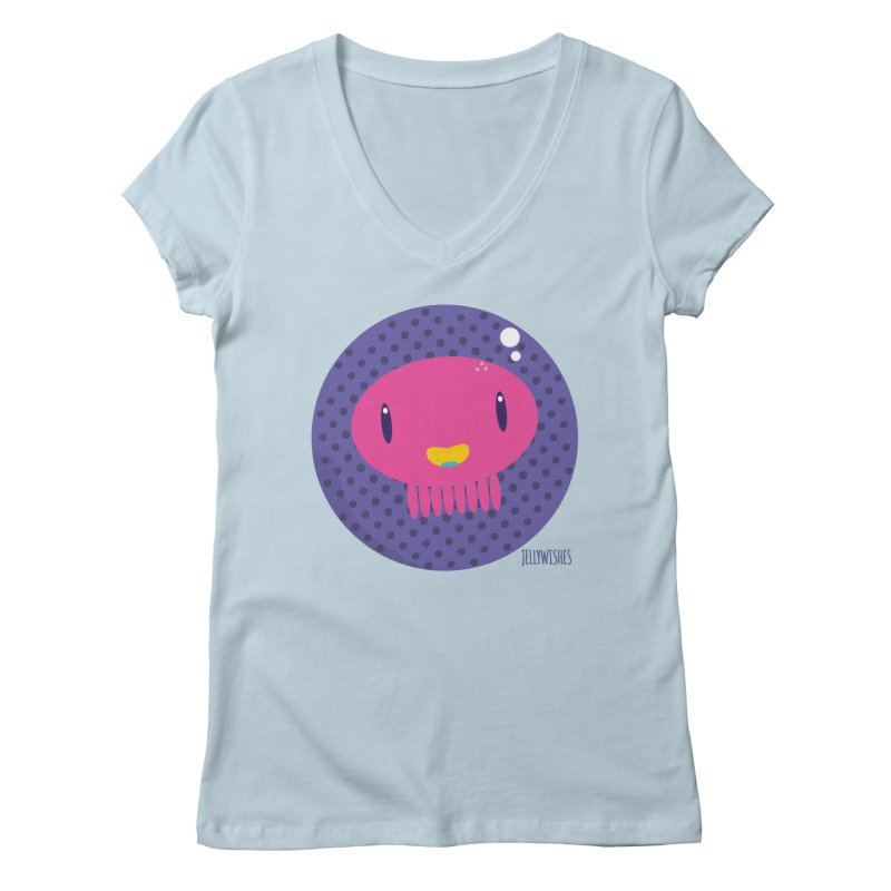 Jellywishes Women's V-Neck by Jellywishes
