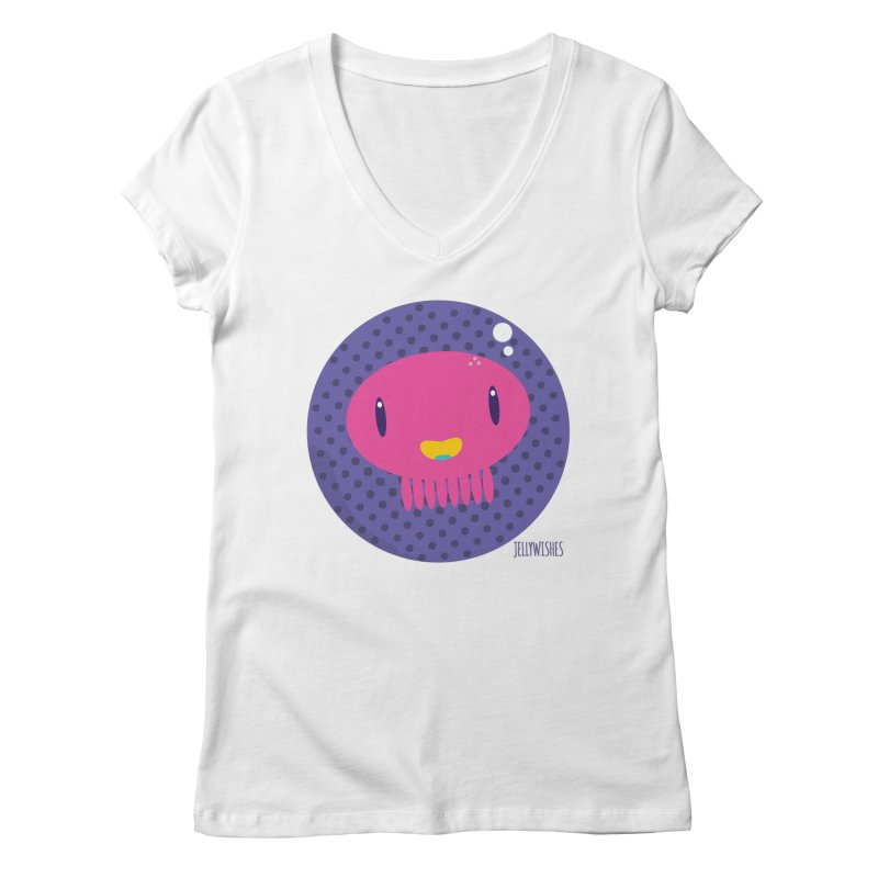 Jellywishes Women's Regular V-Neck by Jellywishes