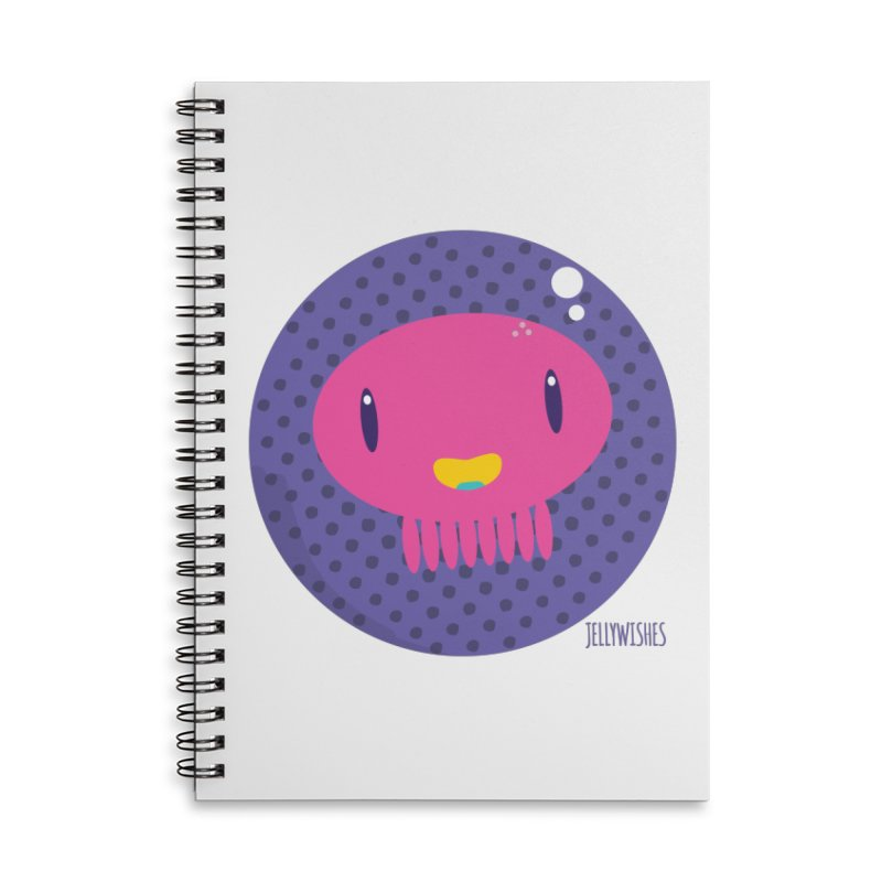 Jellywishes Accessories Lined Spiral Notebook by Jellywishes