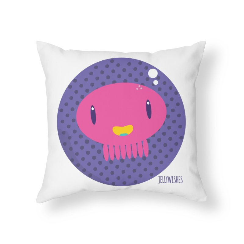 Jellywishes Home Throw Pillow by Jellywishes