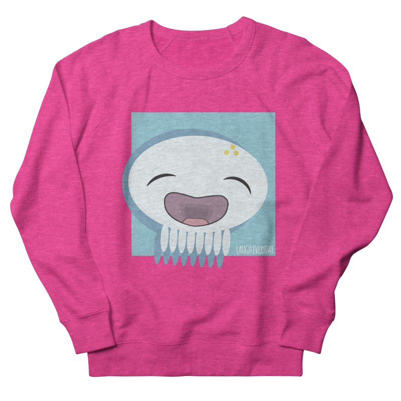 Laugh Everyday Men's French Terry Sweatshirt by Jellywishes