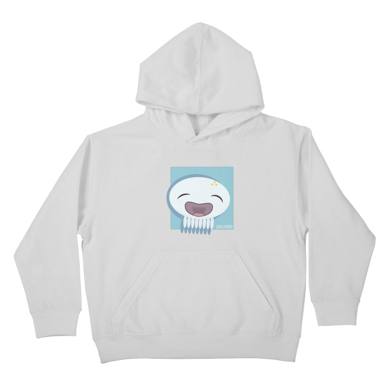 Laugh Everyday Kids Pullover Hoody by Jellywishes