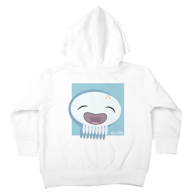 Laugh Everyday Kids Toddler Zip-Up Hoody by Jellywishes