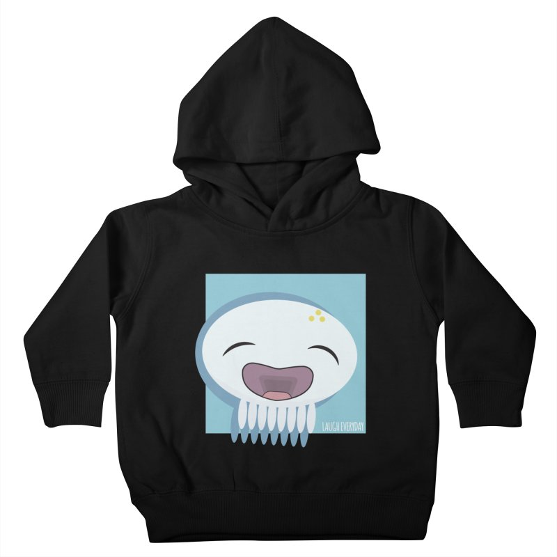 Laugh Everyday Kids Toddler Pullover Hoody by Jellywishes