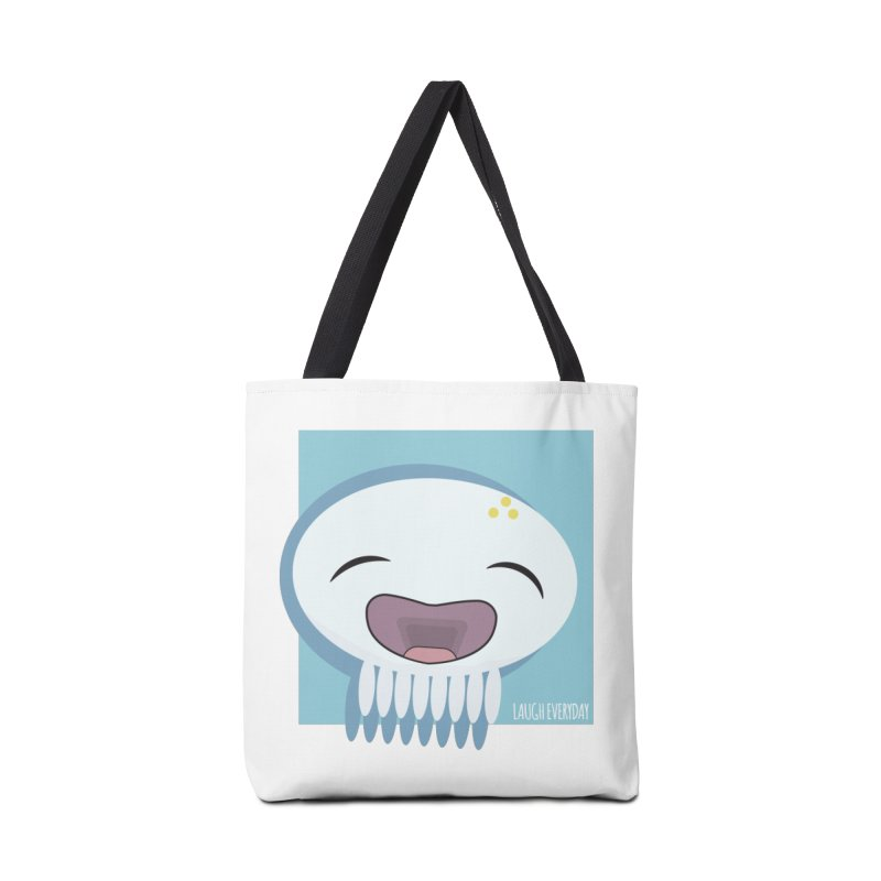 Laugh Everyday Accessories Bag by Jellywishes