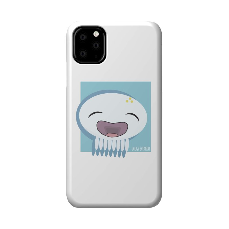 Laugh Everyday Accessories Phone Case by Jellywishes