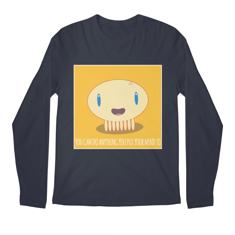 You can do anything! Men's Regular Longsleeve T-Shirt by Jellywishes