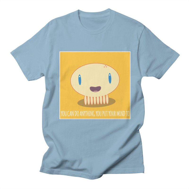 You can do anything! Men's Regular T-Shirt by Jellywishes