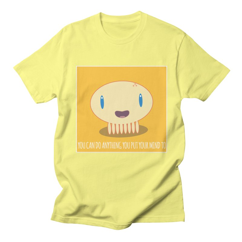 You can do anything! Men's T-Shirt by Jellywishes