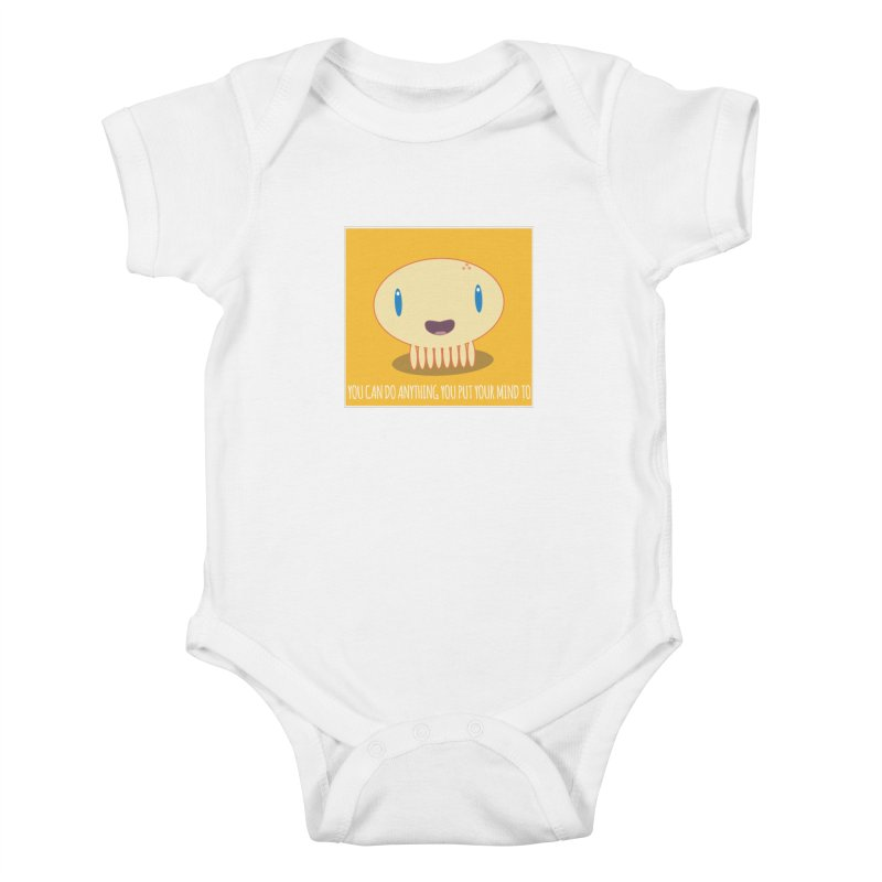 You can do anything! Kids Baby Bodysuit by Jellywishes