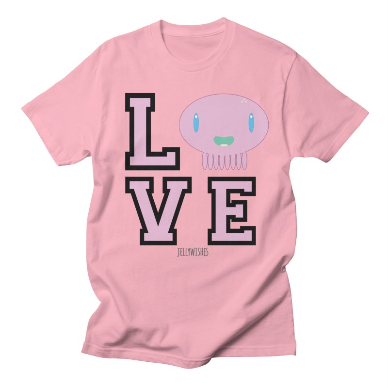 Love  Women's Regular Unisex T-Shirt by Jellywishes