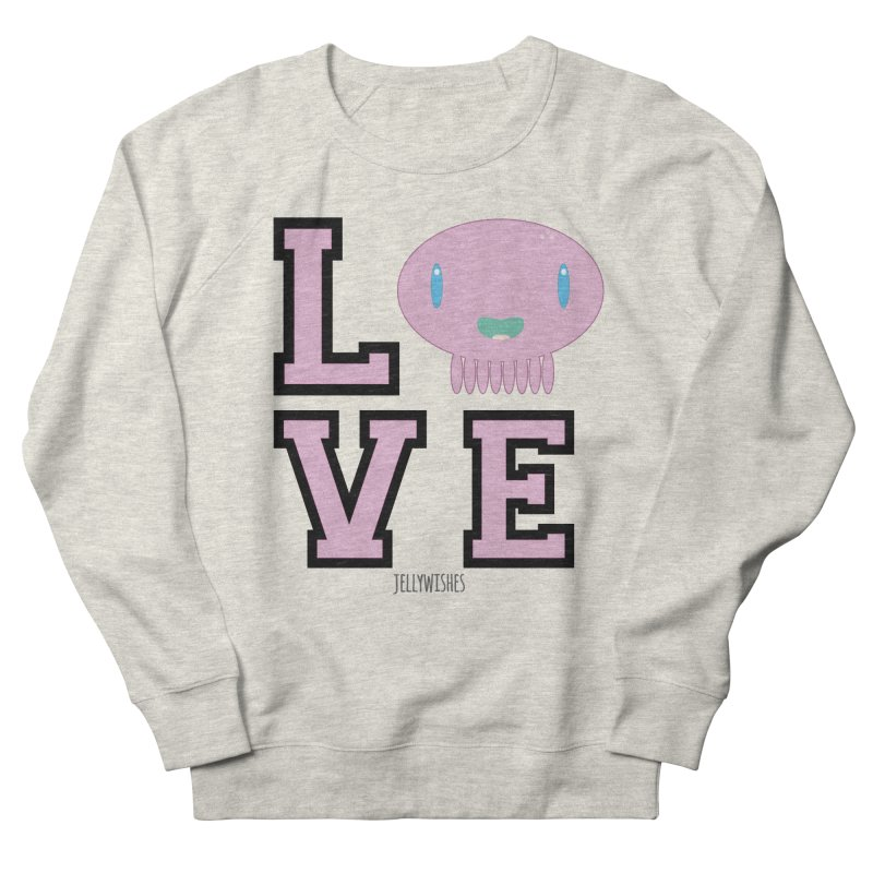 Love  Women's French Terry Sweatshirt by Jellywishes