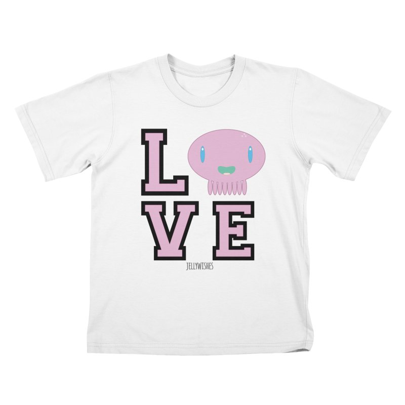 Love  Kids T-Shirt by Jellywishes
