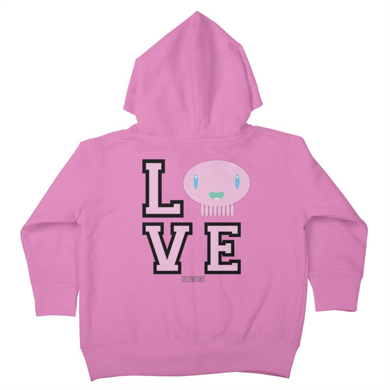 Love  Kids Toddler Zip-Up Hoody by Jellywishes