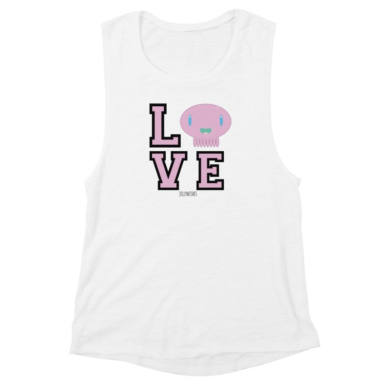 Love  Women's Muscle Tank by Jellywishes