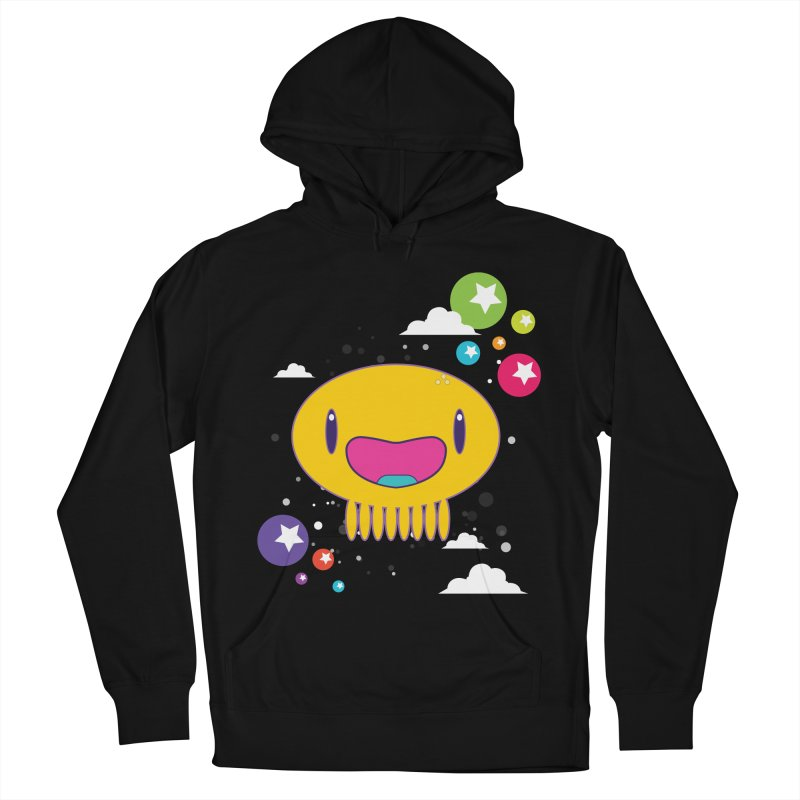 I am happy Men's French Terry Pullover Hoody by Jellywishes