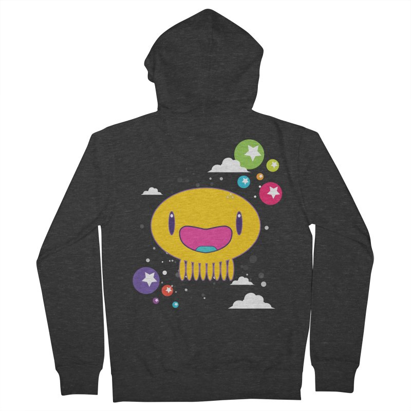 I am happy Men's Zip-Up Hoody by Jellywishes