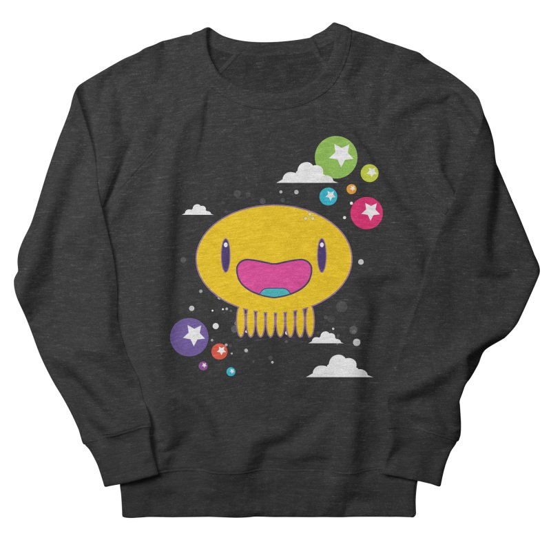 I am happy Men's French Terry Sweatshirt by Jellywishes